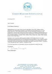 COMITE MARITIME INTERNATIONAL