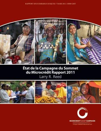 État de la Campagne du Sommet du Microcrédit Rapport 2011 Larry ...