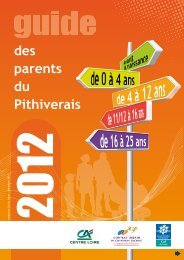 Guide des parents du Pithiverais - Caf.fr