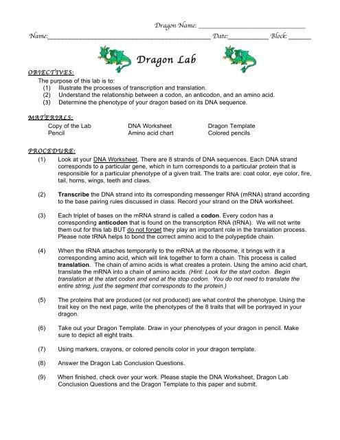 LAB_Dragon Lab.10-11 - nnhsbergbio