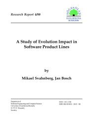 A Study of Evolution Impact in Software Product Lines - ResearchGate