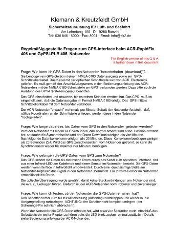 Klemann & Kreutzfeldt GmbH - sostechnic
