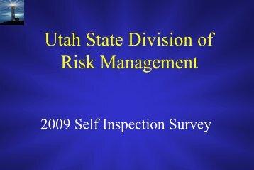 Online Coordinator Training - Risk - Utah.gov