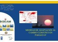 MEDIDAS DE ADAPTACIÓN AL CAMBIO CLIMÁTICO EN PARAGUAY