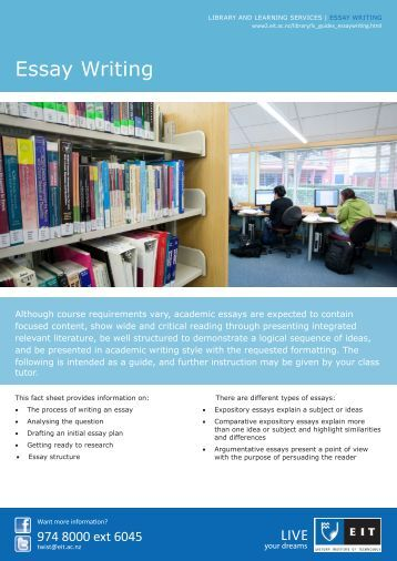 effective academic writing 2 the short essay Effective academic writing presents the writing modes and rhetorical devices students need to succeed in an academic setting.