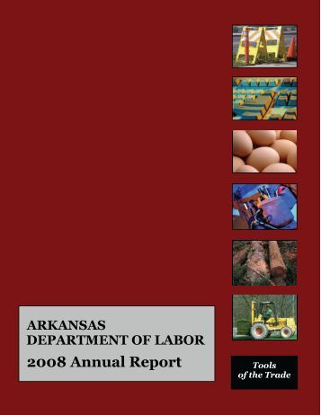 2008 Annual Report - Arkansas Department of Labor