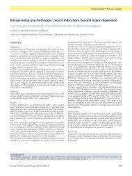 FULL TEXT - Journal of Psychopathology