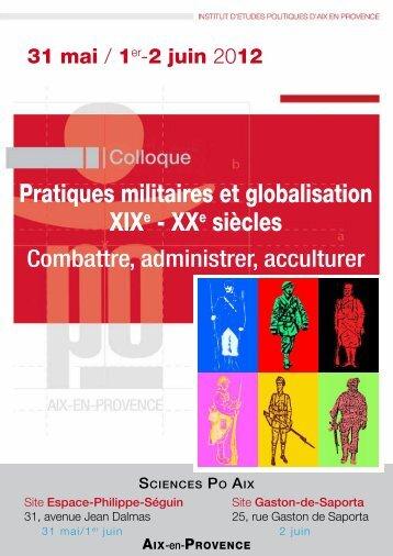 Pratiques militaires et globalisation XIXe - XXe siècles - Lignes de ...
