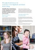 Computing Science and Web Technologies BSc Hons - Perth College - Page 2
