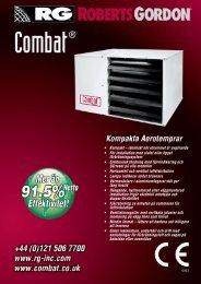 • Kompakt – idealiskt när utrymmet är avgörande ... - Roberts Gordon