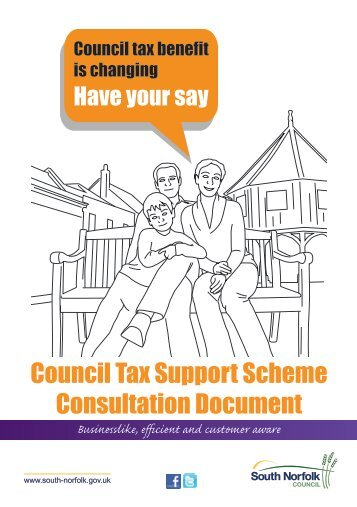 Download the Council Tax consultation booklet [PDF, 644 Kb]