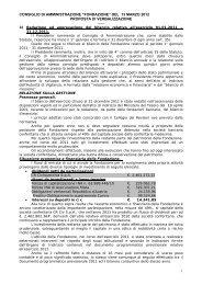 """consiglio di amministrazione """"fondazione"""" del 13 marzo 2012 ... - Acri"""