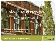 Le suivi de projet - Société d'habitation du Québec - Gouvernement ...