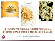 Regulamentação e Mercado de Alimentos Funcionais no Brasil