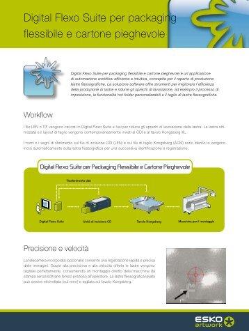 Digital Flexo Suite per packaging flessibile e cartone ... - Esko
