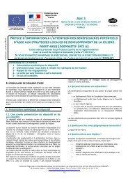 Notice - DRIAAF Ile-de-France