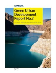 Green Urban Development Report No.3 - Skanska