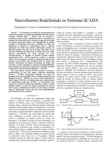 Sincrofasores Redefinindo os Sistemas SCADA - SEL