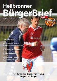 Ausgabe 3 - Heilbronner Bürgerstiftung