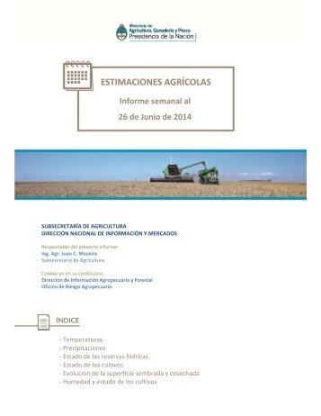 140626_Informe Semanal Resumido Estimaciones - al 26-Jun-2014