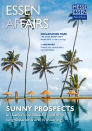 sunnY ProsPeCts - Messe Essen