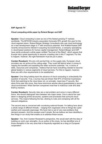 English print version of the interview (PDF, 103 KB) - Roland Berger ...