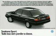 Santana Sport - 1994 - VW Passat