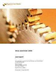 Wsw-statistiek 2009