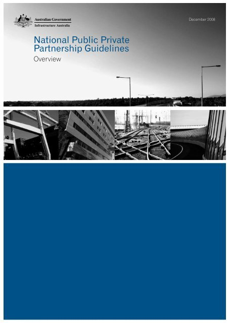 National Public Private Partnership Guidelines – Overview