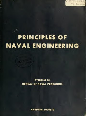 Principles of naval engineering - Historic Naval Ships Association