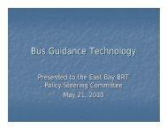 California-Oregon Vehicle Assistance & Automation ... - AC Transit