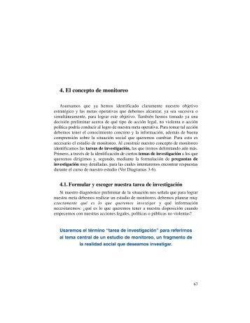 4. El concepto de monitoreo - IIDH