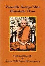 A Spiritual Biography Acariya Mun - HolyBooks.com