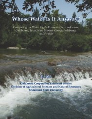 E-1030 Whose Water Is It Anyway? - OSU Fact Sheets - Oklahoma ...
