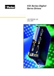 Vix Series Digital Servo Drives - MACCON GmbH