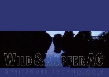 Firmenbroschüre Wild & Küpfer [ca. 1.2MB]