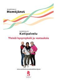 Kotipalvelu - Sundsvall