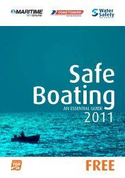 Safe Boating - An Essential Guide - Maritime New Zealand