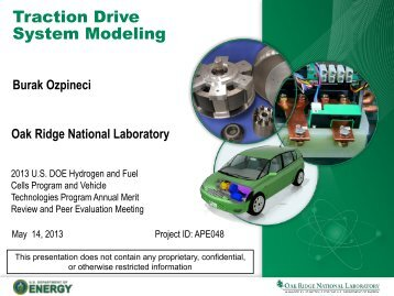 Traction Drive System Modeling