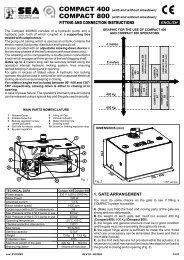 COMPACT 400 - tormax danmark a/s