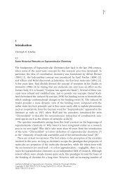 Analytical Methods in Supramolecular Chemistry - Wiley-VCH