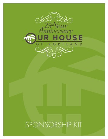 Download sponsorship kit - Our House