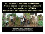 La Cultura de la Siembra y Protección de Árboles Nativos por ...