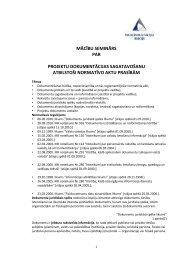 Projektu dokumentācijas sagatavošana - Smiltene