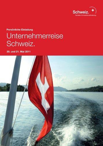 Unternehmerreise Schweiz. - Swiss German Club