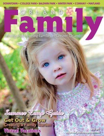 summer camp guide - Orlando Family Magazine