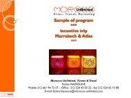 Marrakech - Ria Mooijaart & Partners