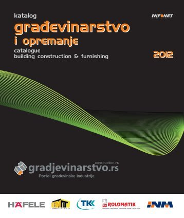 izbor iz kataloga Građevinarstvo 2012 *.pdf - Infonet Group