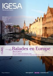 Balades en Europe - IGESA