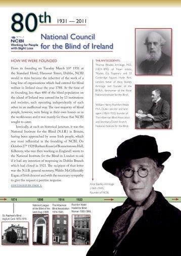 NCBI 80th Anniversary – 1931-2011 [PDF, 1.09 MB] - National ...